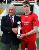 Man of the Match: Eoin Healy, City Wanders with Richard Browne (Cork AUL)
