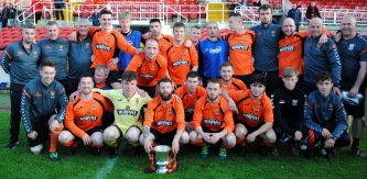 Innishvilla FC - Murphy's Stout Cork AUL winner 2016/17