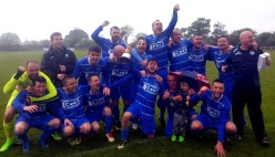 Grattan United A celebrate Premier League win